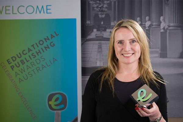 Jacaranda wins 2015 Publisher of the Year award