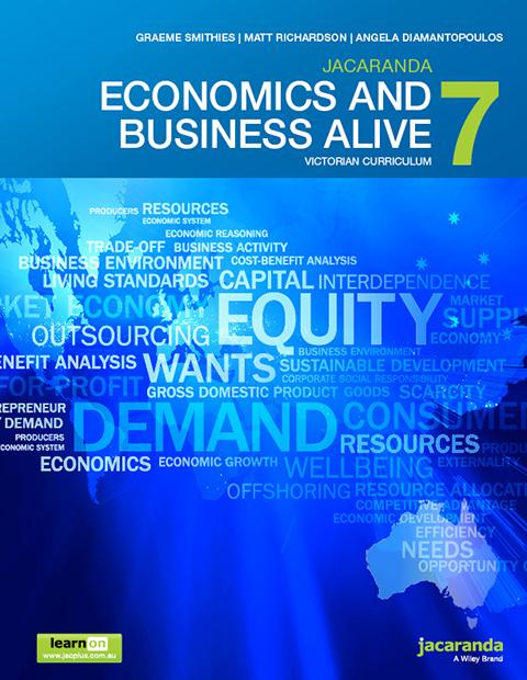 Jacaranda economics and business alive 7 victorian curriculum