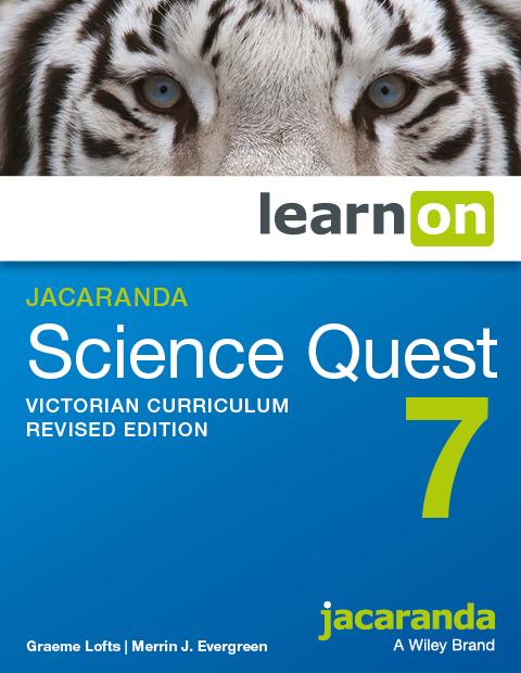 Jacaranda science quest 7 victorian curriculum revised edition