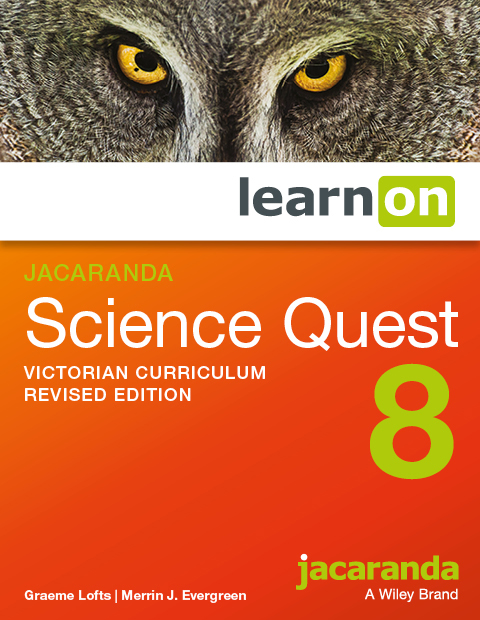 Jacaranda science quest 8 victorian curriculum revised edition