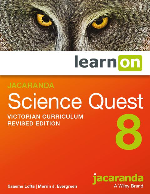 Jacaranda science quest 8 victorian curriculum revised edition