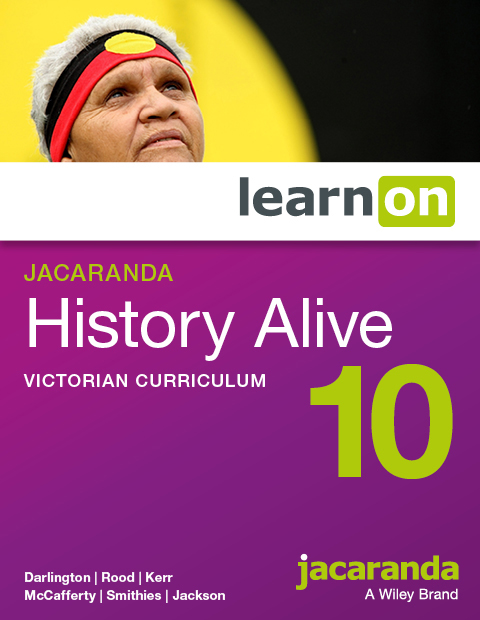 Jacaranda history alive 10 victorian curriculum