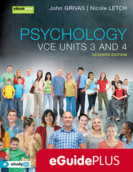 Psychology VCE Units 3 and 4 7e eGuidePLUS