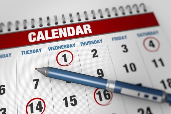 Five tips for a successful term 1 calendar