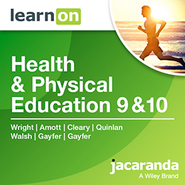 Health & Physical Education 9 & 10 Victorian Curriculum