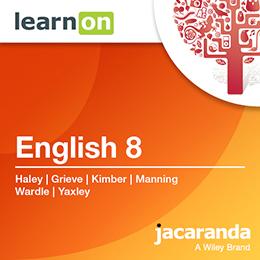English 8 Victorian Curriculum