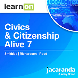 Civics & Citizenship Alive 7 Victorian Curriculum
