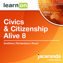 Civics & Citizenship Alive 8 Victorian Curriculum