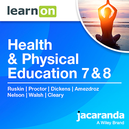 Health & Physical Education 7 & 8 Victorian Curriculum