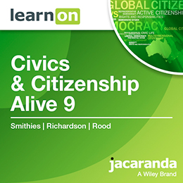 Civics & Citizenship Alive 9 Victorian Curriculum