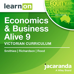 Economics & Business Alive 9 Victorian Curriculum