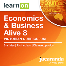 Economics & Business Alive 8 Victorian Curriculum
