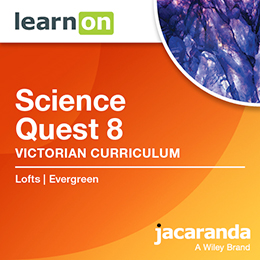 Science Quest 8 Victorian Curriculum