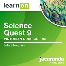 Science Quest 9 Victorian Curriculum