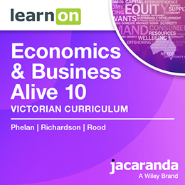 Economics & Business Alive 10 Victorian Curriculum