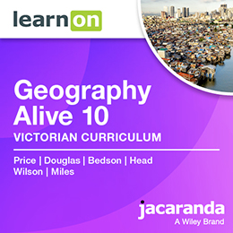Geography Alive 10 Victorian Curriculum