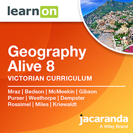 Geography Alive 8 Victorian Curriculum
