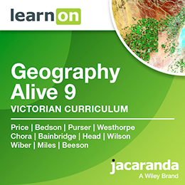 Geography Alive 9 Victorian Curriculum