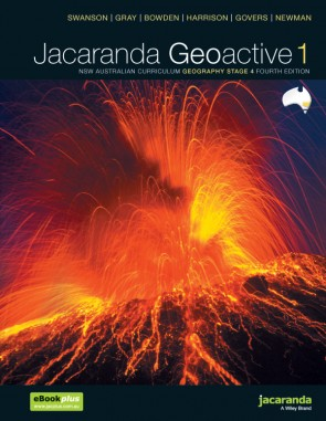 Jacaranda Geoactive 1 NSW Australian Curriculum Geography Stage 4 Fourth Edition
