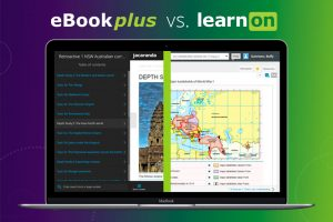 eBookPLUS vs. Jacaranda's new learnON eBook: A comparison