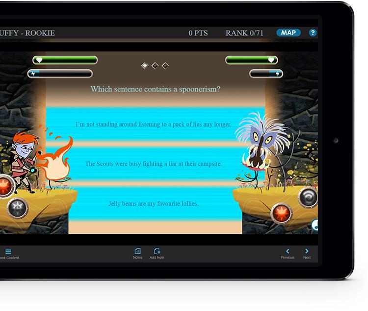 Knowledge Quest ipad