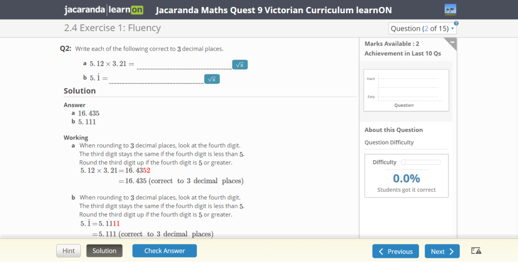 learnON_Mathematics_worked_solution_provides_instant_feedback