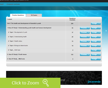 Studyon jacaranda a flexible platform teachers can choose to use studyon in the classroom for example assigning practice questions topic tests and sample exams or simply fandeluxe Images