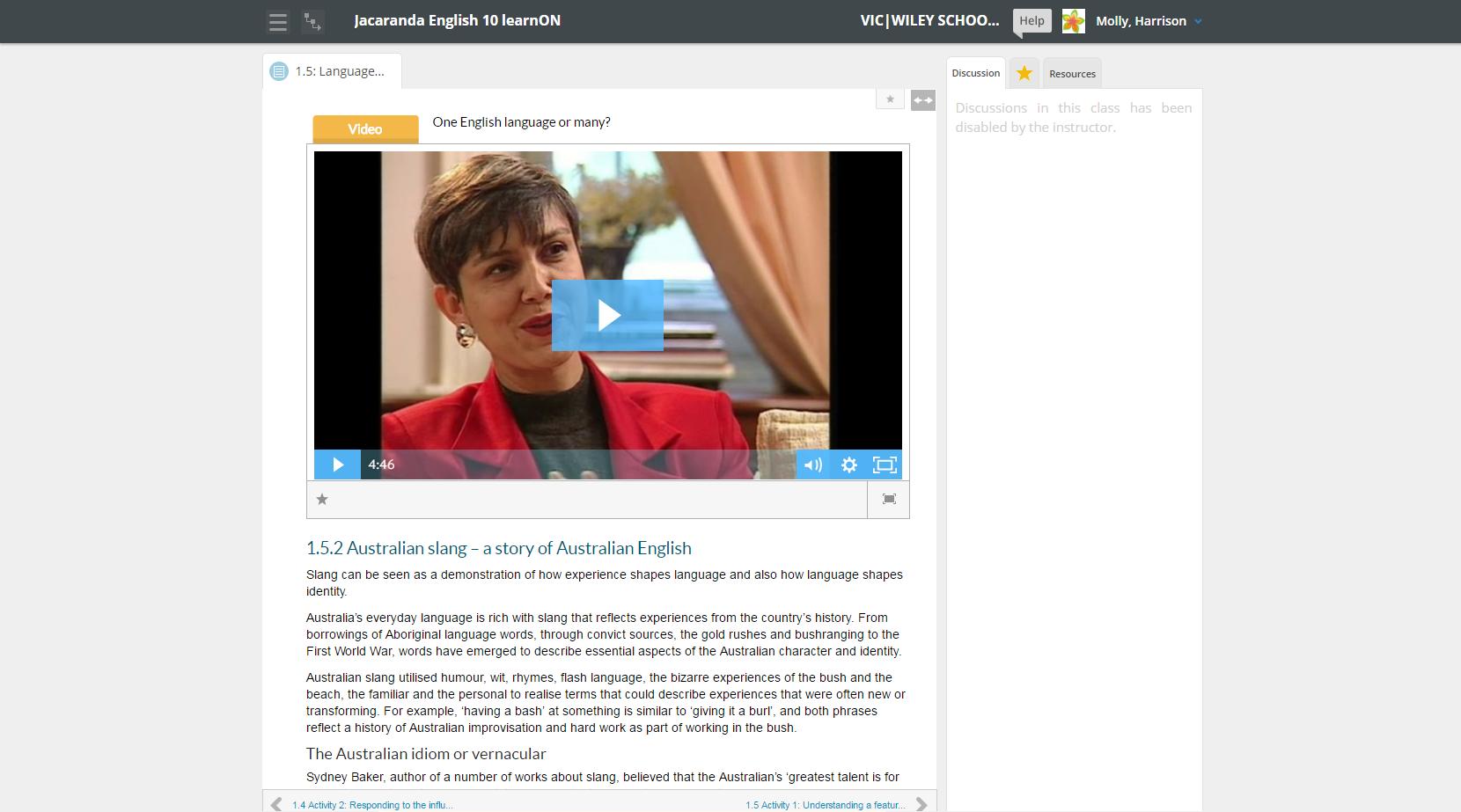 learnON English video