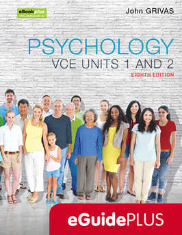 Psychology VCE units 1 and 2 eighth edition eGuidePlus