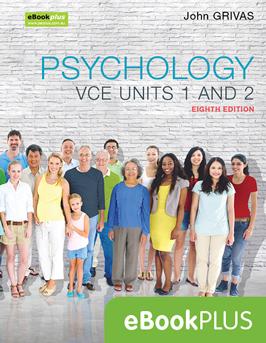 Jacaranda psychology VCE units 1 and 2 eighth edition eBookPlus