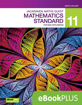 Jacaranda maths quest mathematics standard 11 for NSW fifth edition eBookPlus