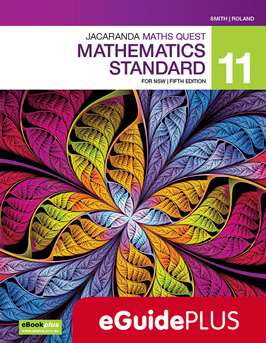 Jacaranda maths quest Mathematics standard 11 for NSW fifth edition eGuidePlus