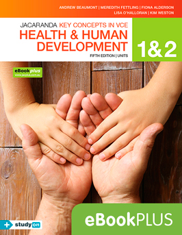 Jacaranda keyconcepts in VCE health and human development fifth edition units 1 and 2 eBookPlus