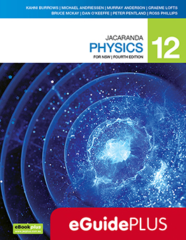 Jacaranda Physics 12 for NSW 4e eGuidePLUS