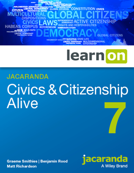 Jacaranda civics and citizenship alive 7