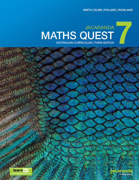 Jacaranda Maths Quest 7 Australian Curriculum third edition