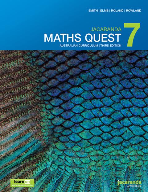 Jacaranda Maths Quest 7 Australian Curriculum third edition