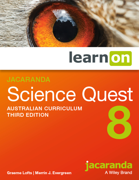 Jacaranda science quest 8 australian curriculum third edition