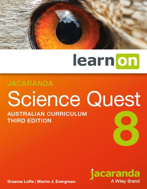 Jacaranda science quest 8 australian curriculum third edition