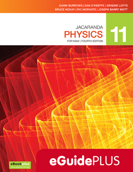 Jacaranda physics 11 for NSW fourth edition eGuidePlus