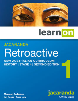 Jacaranda Retroactive 1 NSW curriculum history stage 4 second edition