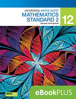 Jacaranda Maths Quest 12 Mathematics Standard for NSW 5e eBookPLUS
