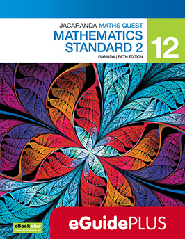 Jacaranda Maths Quest 12 Mathematics Standard for NSW 5e eGuidePLUS