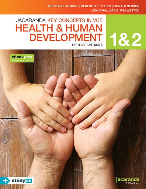 VCE Health and Human Development 9780730345176 1 2