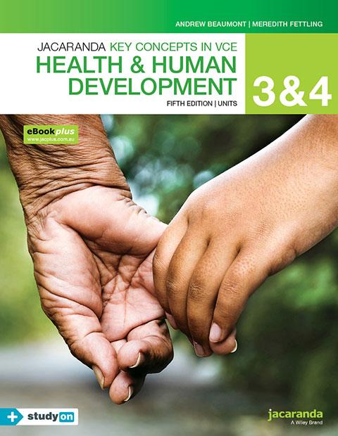 VCE Health and Human Development 9780730345206 3 4