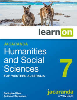 Jacaranda Humanities and Social Sciences 7 for Western Australia