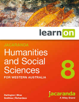 Jacaranda Humanities and Social Sciences 8 for Western Australia