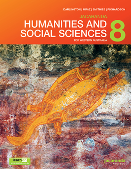 Humanities and Social Sciences 8 for Western Australia