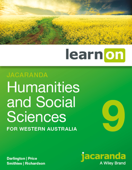 Jacaranda Humanities and Social Sciences 9 for Western Australia