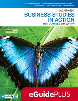 Business Studies in Action HSC Course 6e eGuidePLUS